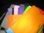 Felts in many colours