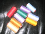 Threads in many colours