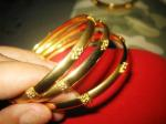 Thai Design Gold Bracelet