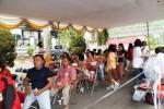 Antri pengobatan gratis, Villa Bintaro Regency
