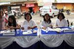 Counter Pendaftaran Pengobatan Gratis, Villa Bintaro Regency