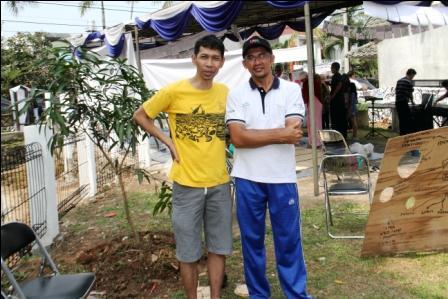 Villa Bintaro Regency - Go Green Painting Day6 ...