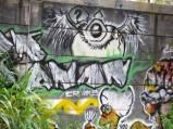 Grafiti Tepi Rel Poris 4