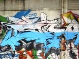 Grafiti Tepi Rel Poris 6