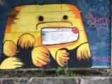 Grafiti Tepi Rel Poris