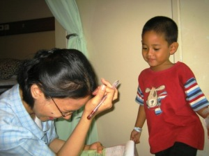 Di Rumah Sakit International Bintaro
