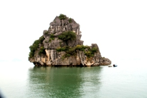 Ha Long Bay Stone Islet 1