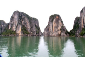 Ha Long Bay Stone Islet 7