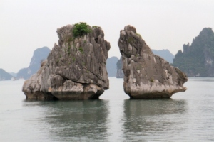 Ha Long Bay Stone Islets