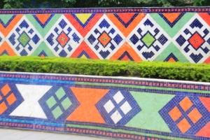 Ha Noi Ceramics Mural 14