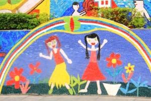 Ha Noi Ceramics Mural 23