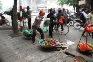 Pedagang DI Hanoi 2