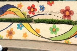 Ha Noi Ceramics Mural 13