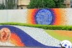 Ha Noi Ceramics Mural 3