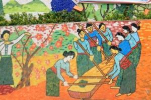 Ha Noi Ceramics Mural 45