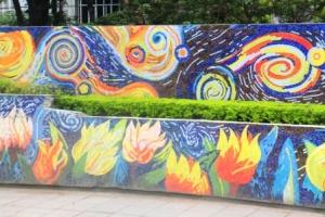Ha Noi Ceramics Mural 50