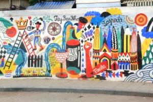 Ha Noi Ceramics Mural 55