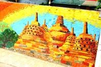 Ha Noi Ceramics Mural - Borobudur