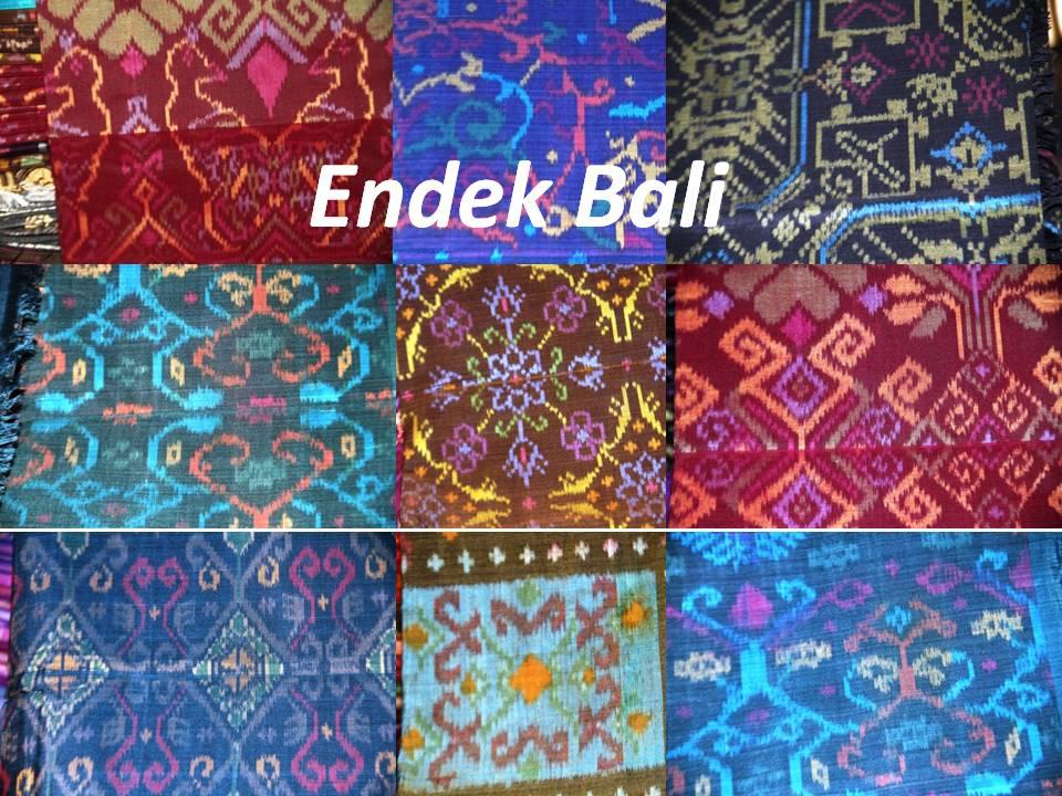 Cuci  Mata: Motif Terkini Kain Endek Bali. (2/4)