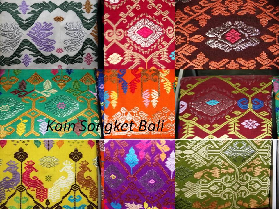 Cuci Mata: Motif Dan Trend Terkini Kain Songket Bali. (6/6)
