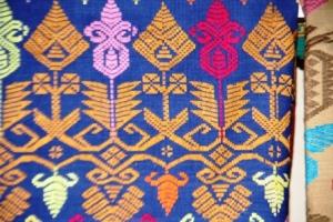 Kain Songket  Bali- benang katun 13