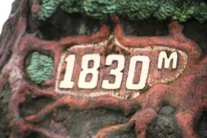 1830 m