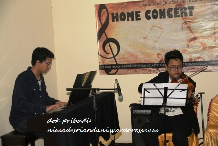 Home concert