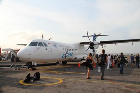 Pesawat Garuda ke Banyuwangi