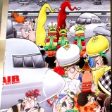 Airport Ngurah Rai Cartoon 4
