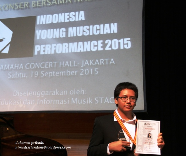 Indonesia Young Musician Performance 2015