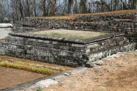 Candi Putih di Keraton Ratu Boko
