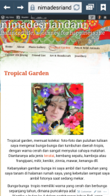 Ni Made Sri Andani - Tropical Garden