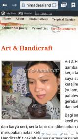 Ni Made Sri Andani - Art & Handicraft.