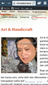 Ni Made Sri Andani - Art & Handicraft.