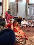 Upacara Pernikahan Adat India di SikhTemple.